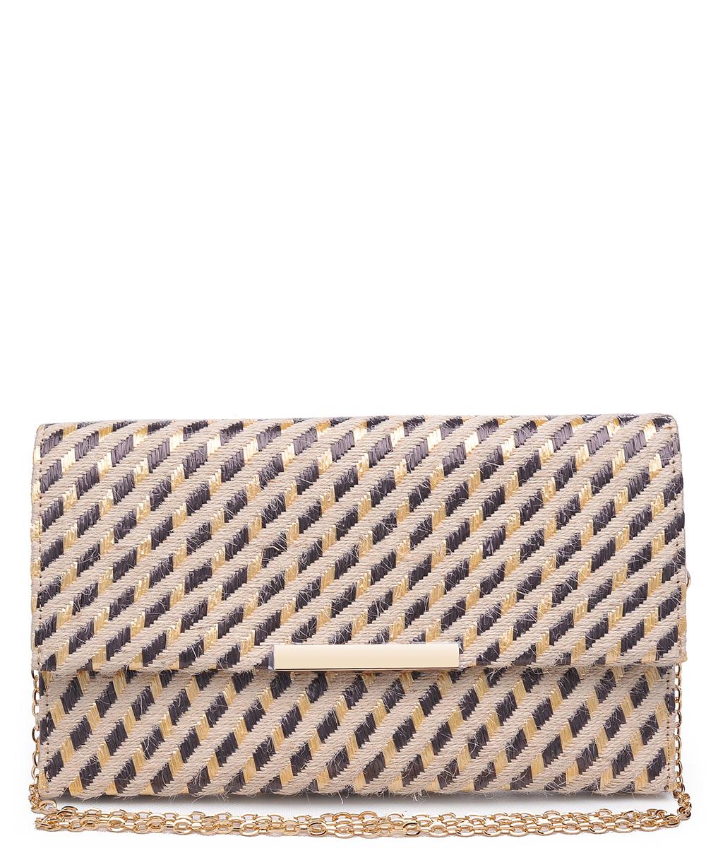 cd399fb081c8 Urban Expression Women s Clutch Bag Messenger Shoulder Handbag Tote Bag  Purse- clutch Envelope 20957 NATURAL