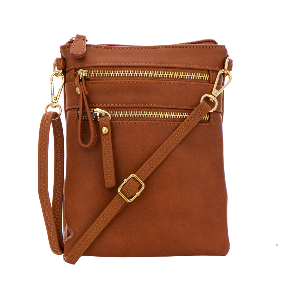 Zipper Crossbody Bag 104