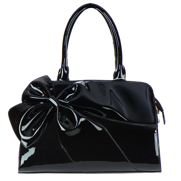 8efcaf83e5fcfb Big Black Patent Leather Purse | Stanford Center for Opportunity ...