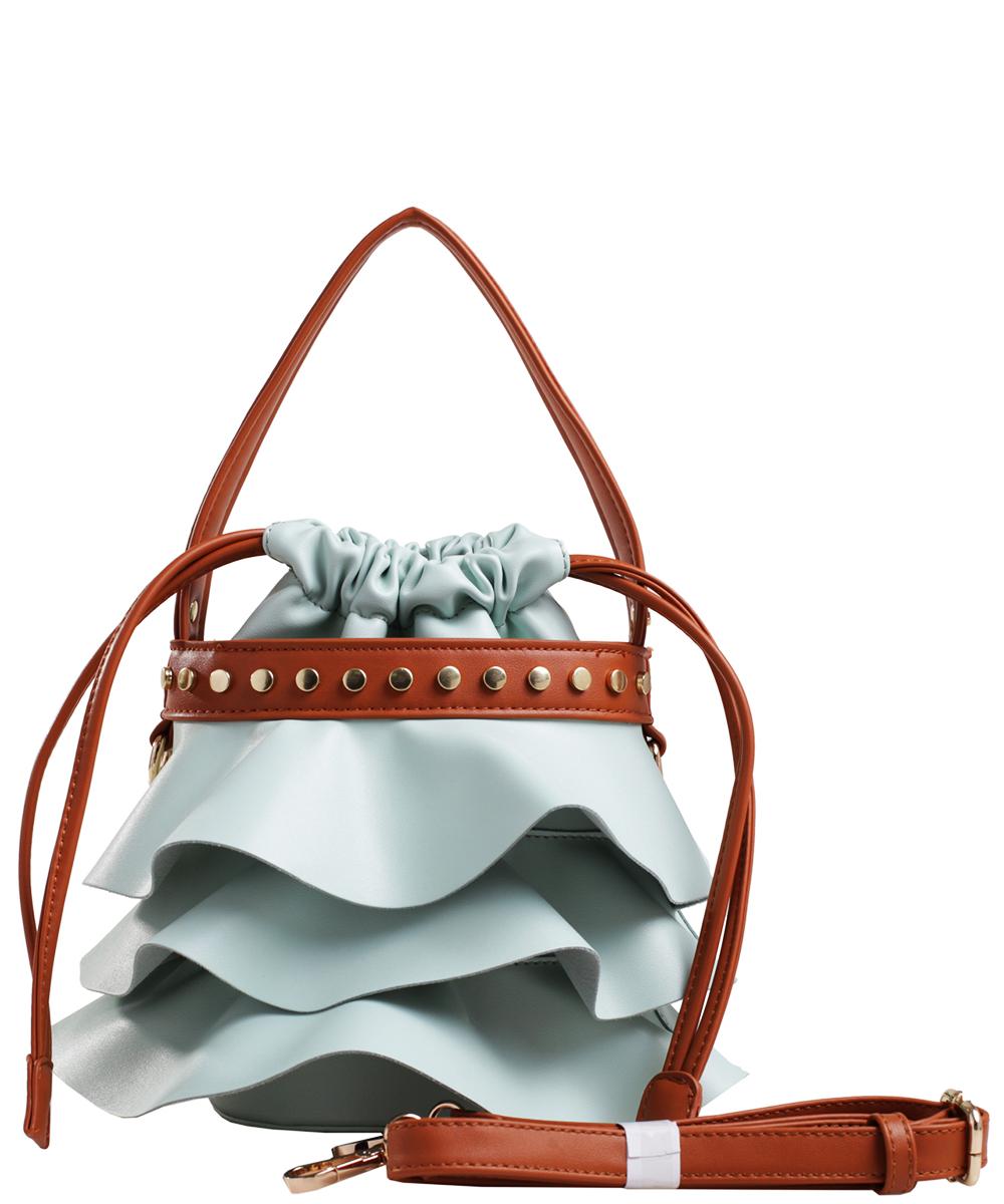 1a02ff7352b4 Fashion Faux Leather Handbag AS2198 LGN