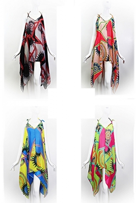 Winter Poncho Scarve Princess KSF112  PACKAGE OF 12PCS