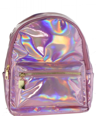 Multi-Color Fashion  Backpack BP6605 PINK