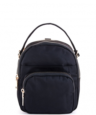 Cute Fashion Trendy Backpack CW-3116 BLACK
