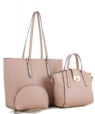 3 In 1 Fashion and Casual Style JX19202 TAUPE