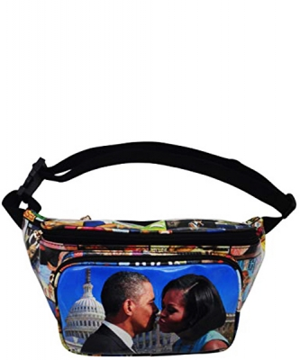 Michelle Obama Magazine Style Fanny Pack NEW Edition 28-PP3222 MULTI