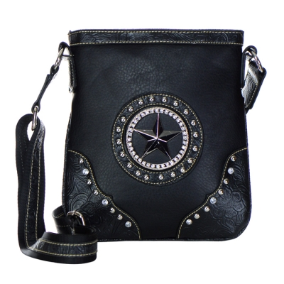Star Accent Western Messenger X12 31220 BLACK  58807