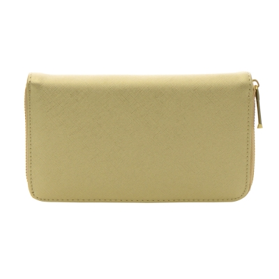 Faux Leather Wallet 35803 - Gold