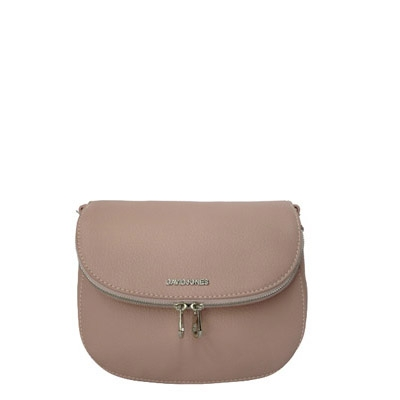 David Jones Body Crossbody Messenger  Faux Leather 5505-1 39213 Pink