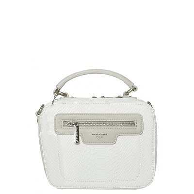 David Jones Body Crossbody Messenger  Faux Leather 55221 39230 White
