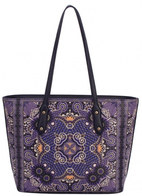 David Jones Tote handbag CM3319 39813 Black Violet