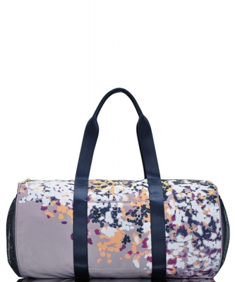 Faux Leather Travel Duffle Bag BGW48846