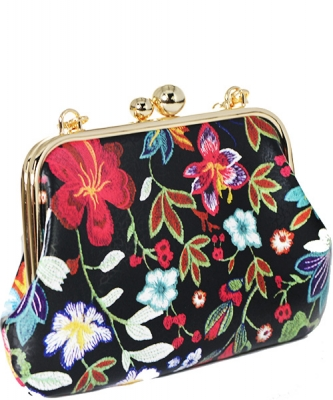 Fashion flower Clutch Satchel PR OC6459