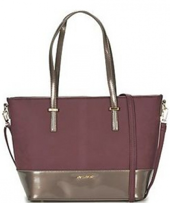 David Jones Patent Leather Tote Handbag 56092
