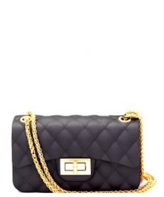 Quilted Jelly Small 2 Way Shoulder Bag JP067