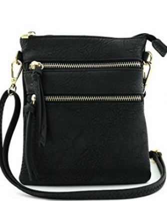 Functional Multi Pocket Crossbody Bag 80808A