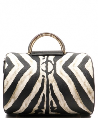 Zebra Print Fashion Handbag -  ZA003