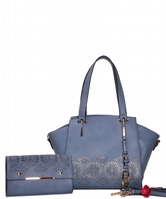 Fashion Top Handle 2-in-1 Shopper 4096 BLUE
