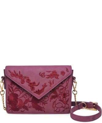 Arabella Embroidered Vegan Leather 14326