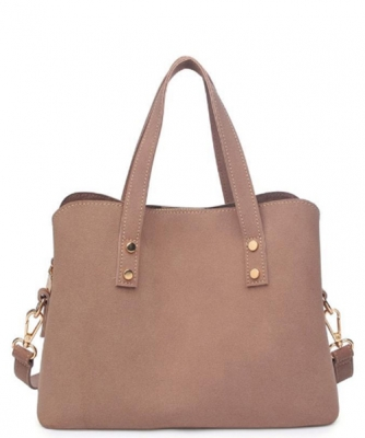 Karina Mini Satchel  Sueded Vegan Leather 14786
