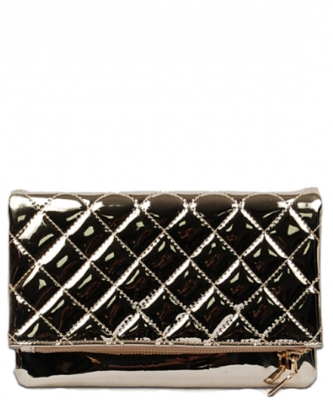 Goldie Metallic Clutch MM1492