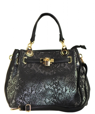 Fashion Tote Handbag Designer SG136 BLACK