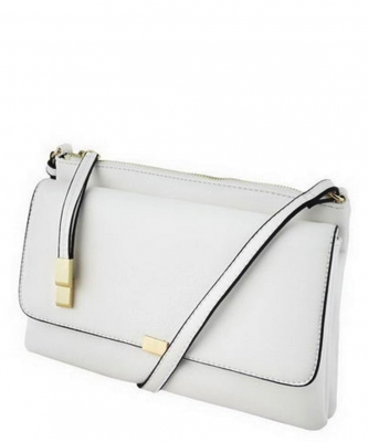 2 Compartments Messager Bag Designer LP052 WHITE