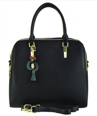 Fashion Tote Handbag Designer L0769 BLACK