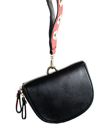 Luxury Classic Clutch with Chain 6508 BLACK