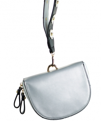 Luxury  Classic Clutch with Chain 6508 SILVER