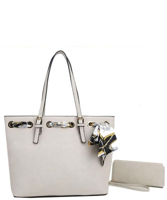 Fashion Top Handle 2-in-1 Shopper T2173 OFWHITE