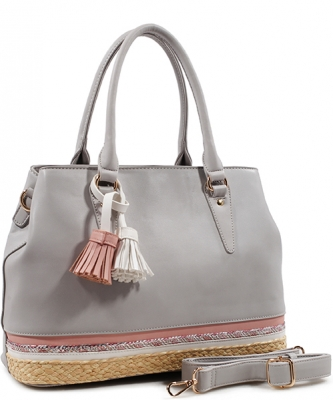 Fashion Satchel DS1793 GRAY