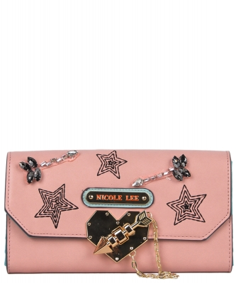 Nicole Lee Ivana Wallet STR6606 PINK