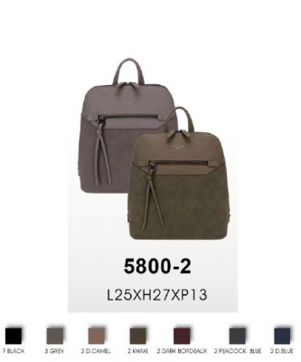 David Jones Fashion Handbag 5800-2 10 PCS Per Box ASSORTED