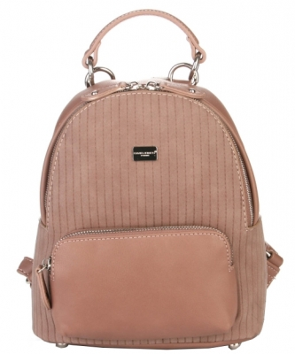 Hardware Accent Fashion Backpack 5829-2 DPINK