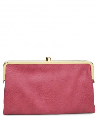 Urban Expressions Faux Leather Wallet Sandra Metal hardware Complements Classic Style 7287A-UR  MAUVE