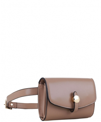 Multi compartment Fashion Fanny Pack 87935 DTAUPE