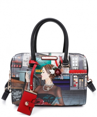 Nicole Lee Falling In Love Boston Bag FAL15020