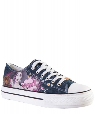 Nicole Lee Classic Denim Sneakers TS21138 WOW ITS LUCY