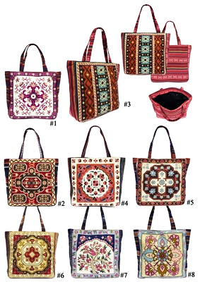 7bacca75be8c Embroidered Large Fashion Tote Bag FC00178  Wholesale Handbags ...