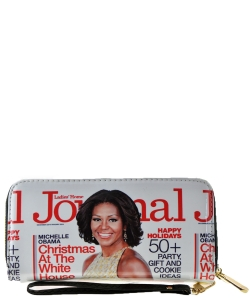 Magazine Fashion wallets WHITE