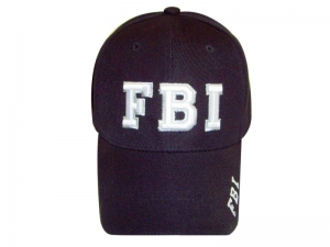 Package Sale!!! (6pcs) Designer Inspired Baseball Caps w/ FBI Logo