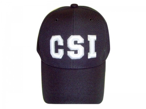 Package Sale!!! (6pcs) Designer Inspired Baseball Caps w/ CSI Logo