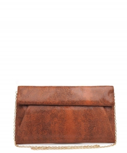Urban Expressions Emilia Clutch Bag 10385SE TAN MULTI