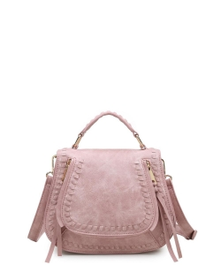 Urban Expressions Khloe Mini Messenger Bag 12193M French Rose