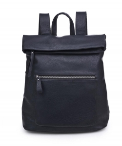 Urban Expressions Lennon Backpack 14386  BLACK