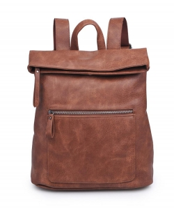 Urban Expressions Lennon Backpack 14386  COGNAC