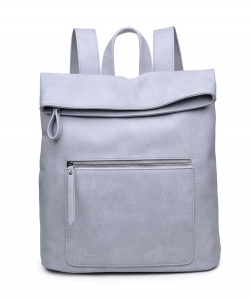 Urban Expressions Lennon Backpack 14386  DOVE GRAY