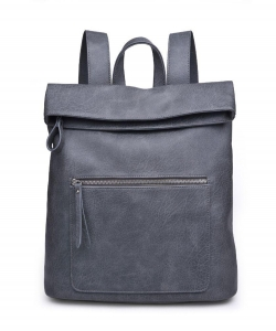 Urban Expressions Lennon Backpack 14386  SLATE