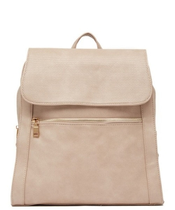 Urban Expressions Mick Vegan Leather Backpack 14544 FRENCH ROSE