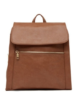Urban Expressions Mick Vegan Leather Backpack 14544 TAN